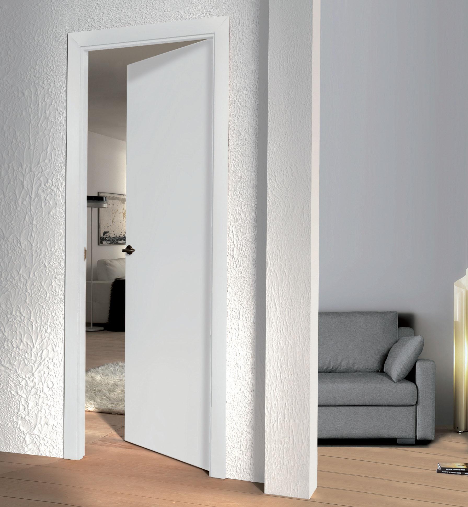 Puertas de Interior Lacadas en Blanco, de Roble y de Sapely. Vidrieras